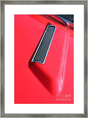 1967 Chevrolet Chevelle Ss Hotrod 5d26458 Framed Print by Wingsdomain Art and Photography