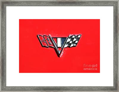1967 Chevrolet Chevelle Ss Hotrod 5d26462 Framed Print by Wingsdomain Art and Photography