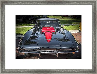 1967 Chevrolet Corvette 427 435 Hp Framed Print by Rich Franco