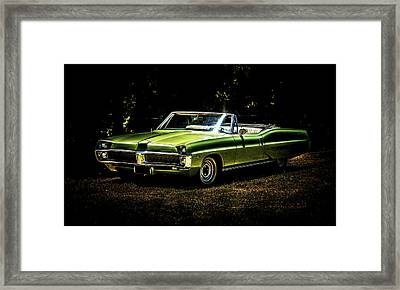 1967 Pontiac Bonneville Framed Print by motography aka Phil Clark