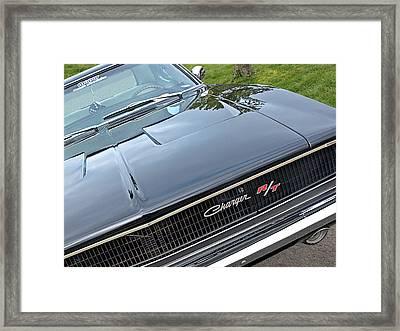 1968 Dodge Charger Framed Print by Gill Billington