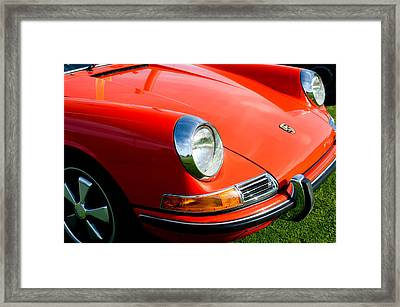 1968 Porsche 911 Front End Framed Print by Jill Reger