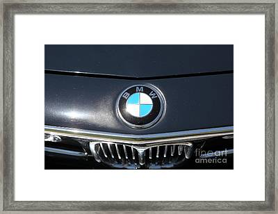 1969 Bmw 2800cs Coupe 5d23044 Framed Print by Wingsdomain Art and Photography