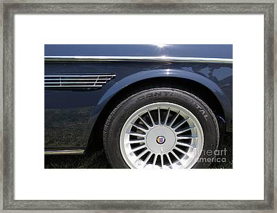 1969 Bmw 2800cs Coupe 5d23046 Framed Print by Wingsdomain Art and Photography