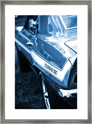 1969 Chevrolet Camaro Yenko Sc 427 Framed Print by Gordon Dean II