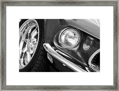 1969 Ford Mustang Mach 1 Front End Framed Print by Jill Reger