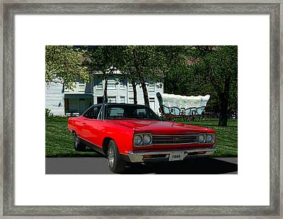1969 Plymouth Gtx 440 Magnum Framed Print by Tim McCullough