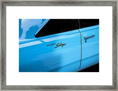 1970 Dodge Dart Swinger 340 Framed Print by Rich Franco