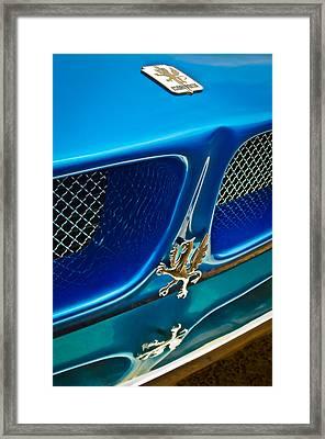 1970 Iso Rivolta Grifo Emblem  -0146c Framed Print by Jill Reger