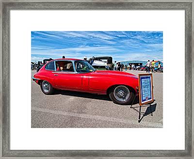 1970 Jaguar Xke 2 Plus 2 Series II Framed Print by Steve Harrington