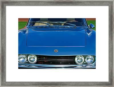 1971 Fiat Dino 2.4 Grille Framed Print by Jill Reger