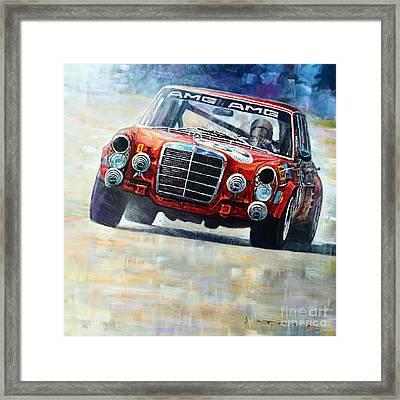 1971 Mercedes-benz Amg 300sel Framed Print by Yuriy Shevchuk