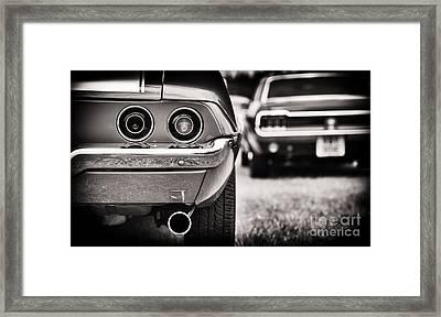 1972 Camaro Framed Print by Tim Gainey