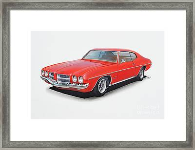 1972 Pontiac Lemans Framed Print by Paul Kuras