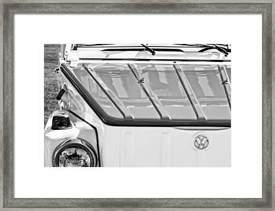 1974 Volkswagen Thing Acapulco Beach Car -3409bw Framed Print by Jill Reger