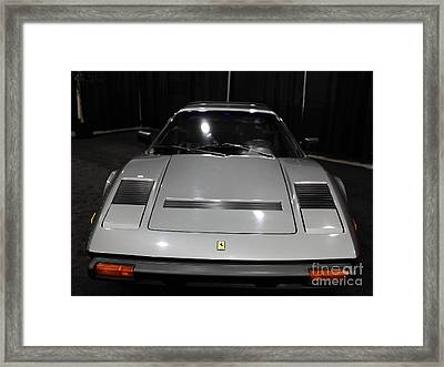 1984 Ferrari 308 Gts Qv - 5d19817 Framed Print by Wingsdomain Art and Photography