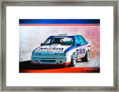 1987 Vl Commodore Group A Framed Print by Stuart Row