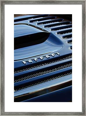 1997 Ferrari F 355 Spider Rear Emblem -153c Framed Print by Jill Reger