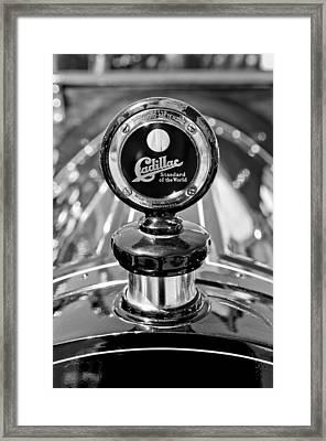 1911 Cadillac Roadster Hood Ornament Framed Print by Jill Reger