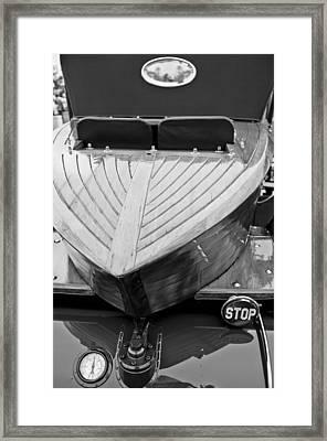 1914 Rolls-royce Silver Ghost Shapiro-schebera Skiff Rear End Framed Print by Jill Reger