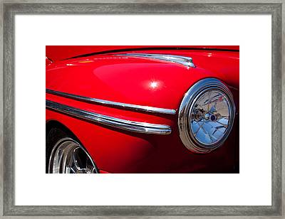 1946 Ford Mercury Eight Framed Print by David Patterson