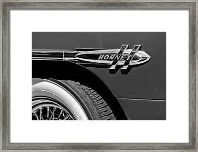1953 Hudson Hornet Emblem Framed Print by Jill Reger