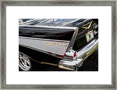 1957 Chevrolet Bel Air Framed Print by Rich Franco