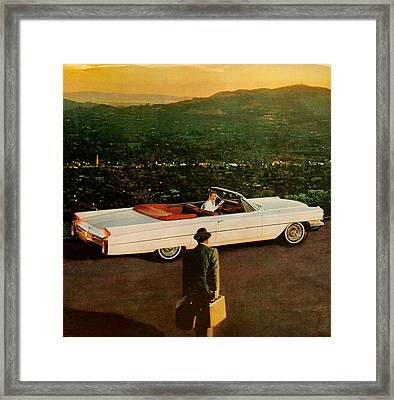 1960s Usa Cadillac Magazine Advert Framed Print by The Advertising Archives