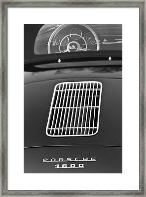 1962 Porsche 356 1600 Bt6 Roadster Framed Print by Jill Reger