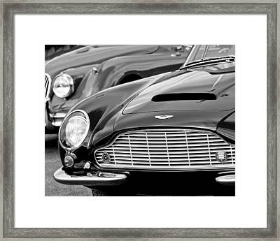 1965 Aston Martin Db6 Short Chassis Volante Framed Print by Jill Reger