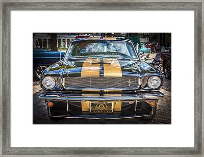 1966 Ford Shelby Mustang Hertz Edition  Framed Print by Rich Franco