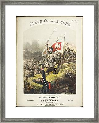 A Battle Scene Framed Print by British Library