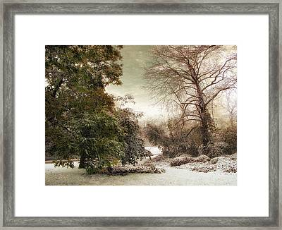 A Dusting Of Snow Framed Print by Jessica Jenney
