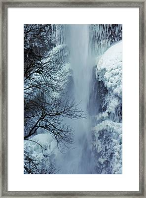 A Frozen Moment Framed Print by Ruth Taylor