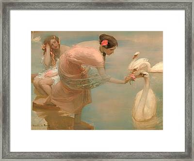 A Summer Morning Framed Print by Mountain Dreams