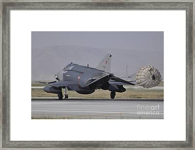 A Turkish Air Force F-4e 2020 Framed Print by Giorgio Ciarini