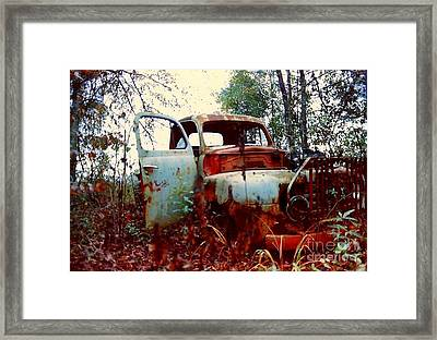Abandoned  Journey  Framed Print by Michael Hoard