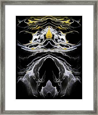 Abstract 138 Framed Print by J D Owen