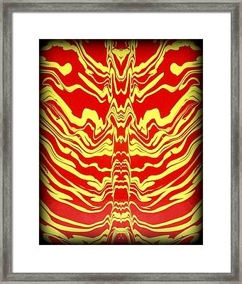 Abstract 48 Framed Print by J D Owen