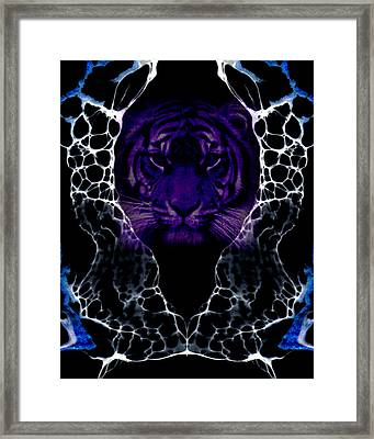 Abstract 65 Framed Print by J D Owen