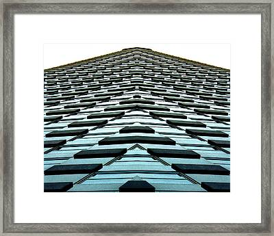Abstract Buildings 1 Framed Print by J D Owen