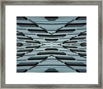 Abstract Buildings 3 Framed Print by J D Owen