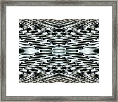 Abstract Buildings 5 Framed Print by J D Owen