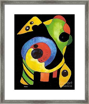 Abstract Dream Framed Print by Nan Wright