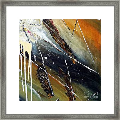 Abstract Framed Print by Ismeta Gruenwald