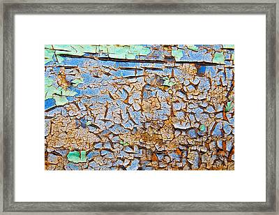 Abstract Framed Print by Mark Weaver