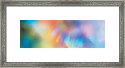 Abstract Framed Print by Panoramic Images