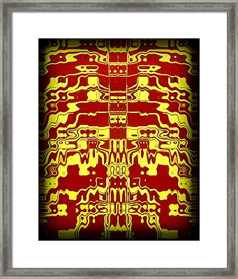 Abstract Series 1 Framed Print by J D Owen