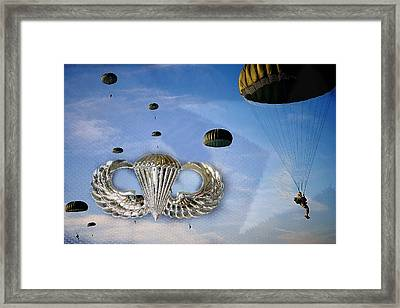 Airborne Framed Print by JC Findley