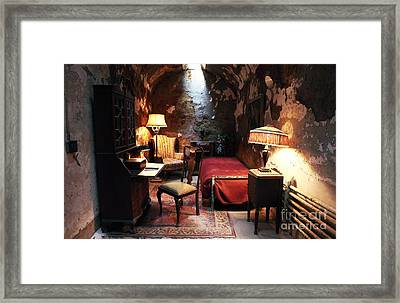 Al Capone's Cell Framed Print by John Rizzuto